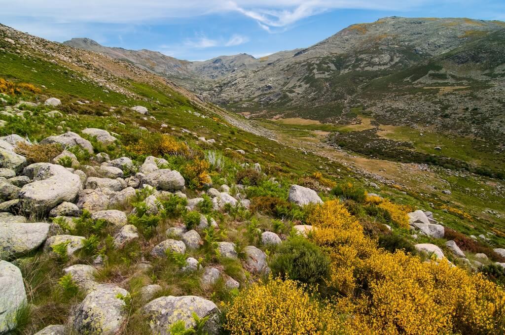 Valle del la Serrá en la Garganta de los Infiernos