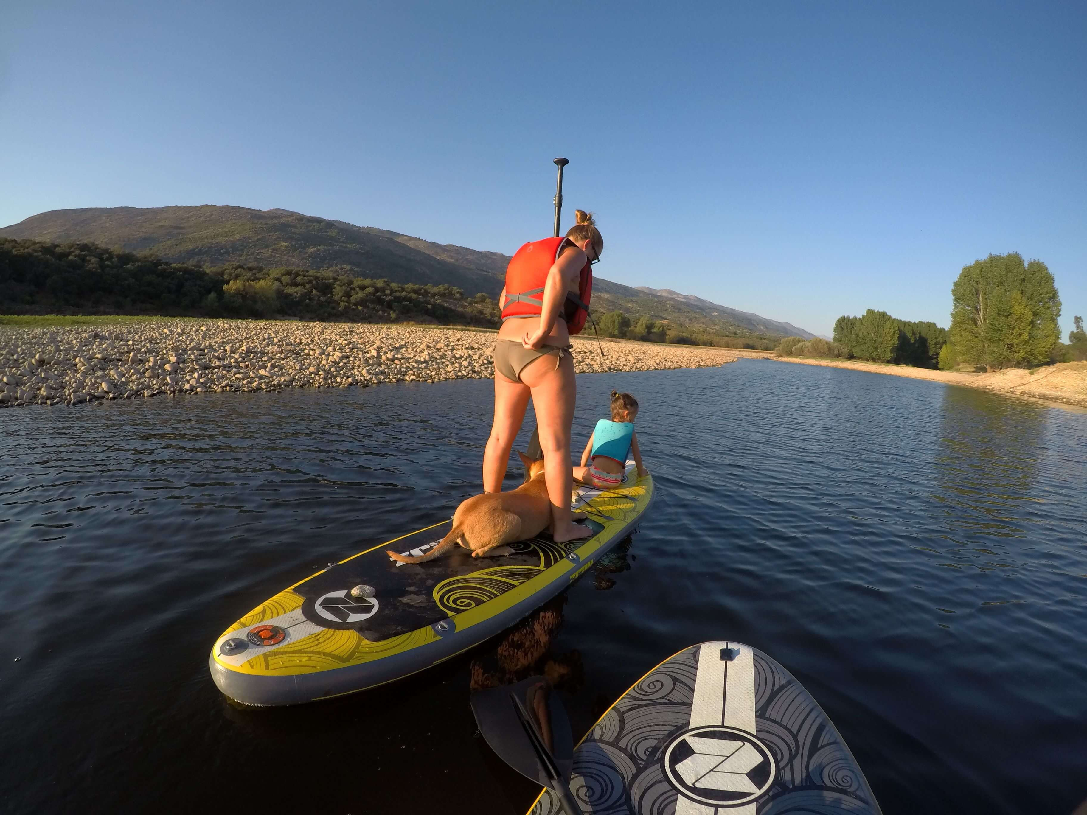 stand up paddle Valle del Jerte