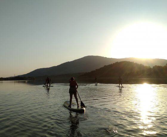 paddle surf valle del jerte