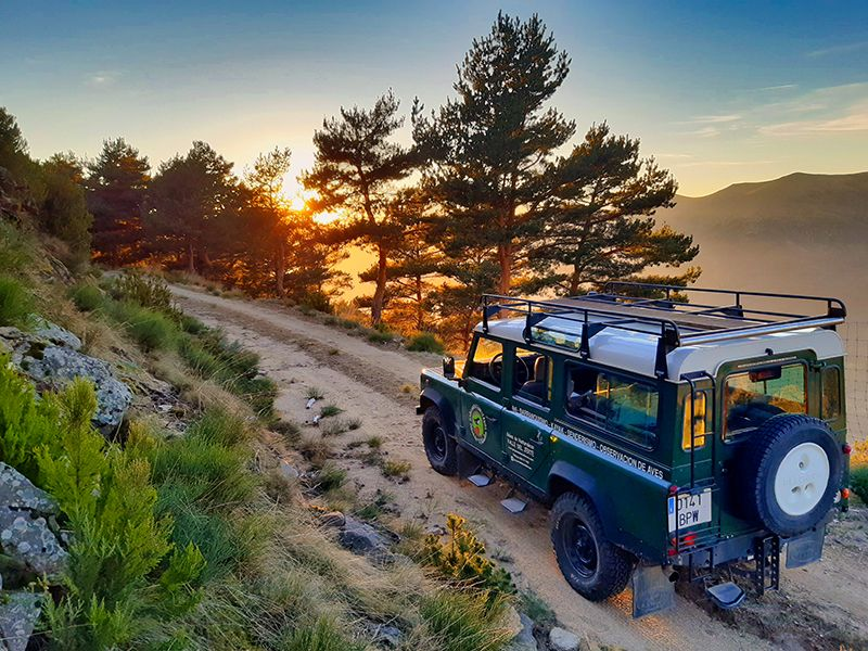 rutas y excursiones en 4x4 Valle del Jerte